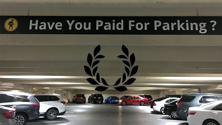 caesars palace parking fee