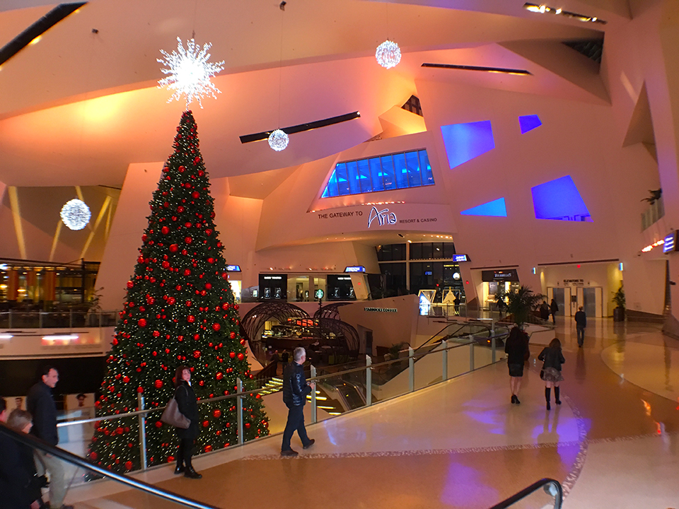Vegas For The Holidays 2016 The Shops At Crystals Vegas